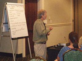 Michael Gramling at a T/TAS Training Event