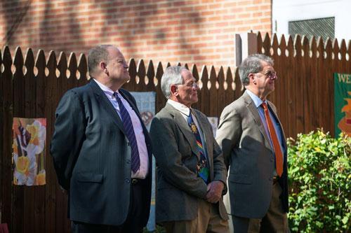Chris Watkins, Ray Mendel and Sam Evans