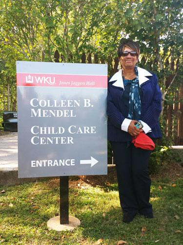 Thelma Jackson, Director of the Colleen B. Mendel Child Care Center